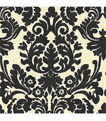 "Waverly Sun N Shade Upholstery Fabric 54""-Essence Onyx"