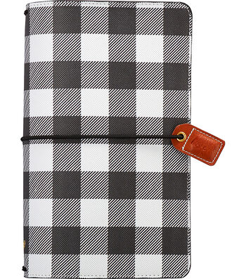 Webster's Pages Color Crush Traveler's Planner-Buffalo Plaid
