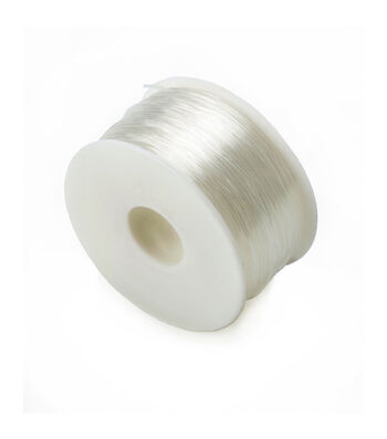 Clear Stretchy Cord, .08mm, 100 yards