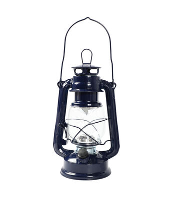 Camp Ann LED Lantern with Handle-Navy