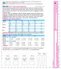 Kwik Sew Pattern K4153 Girls\u0027 Square-Neckline Tops & Leggings-Size XS-XL
