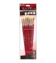 Loew-Cornell Studio Elements Bristle Long Handle Brush Set, , hi-res
