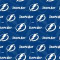Tampa Bay Lightning Cotton Fabric-Tone on Tone