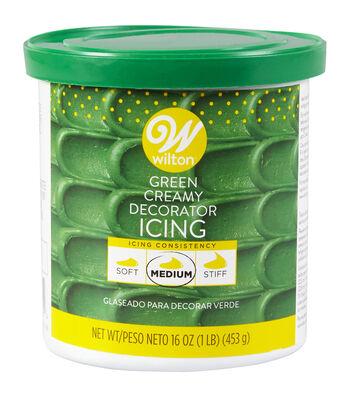 Wilton 16 oz. Creamy Decorator Icing-Green