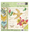 Foliage Specialty Paper Pad 12\u0022X12\u0022-28 Sheets