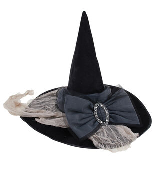 Maker's Halloween Witch Hat-Black