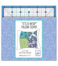 June Tailor Square Ruler With Pillow Wrap Pattern