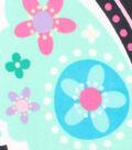 No-Sew Throw Fleece Fabric 48\u0022-Large Butterfly Panel