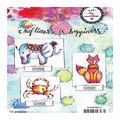 Art By Marlene 2.0 Animals Cling Stamp-Fox