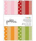 American Crafts Single-Sided Paper Pad 6\u0022X8\u0022 24/Pkg-Basics 2