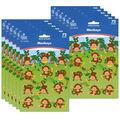 Carson Dellosa Monkeys Shape Stickers 12 Packs
