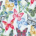 Kelly Ripa Home Upholstery Fabric 9\u0022x9\u0022 Swatch-Social Butterfly Petunia