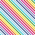 Celebration Cotton Fabric-Multi Stripe Rainbow