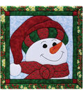 Snowman Quilt Magic Kit-12\u0022X12\u0022