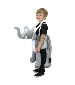 Maker's Halloween Child Costume-Riding Elephant