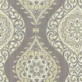 Waverly Lightweight Decor Fabric Swatch-Moonlit Medallion/Mineral