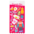 American Crafts Damask Love Puffy Stickers