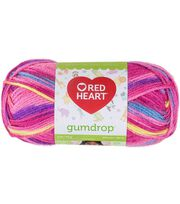 Red Heart Gumdrop Yarn, , hi-res