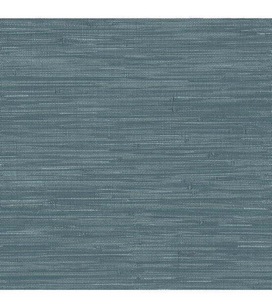 Wallpops Nuwallpaper Peel Stick Wallpaper Navy Grassweave Joann