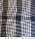 Perfectly Plaid Fabric-Acrylic Black White Houndstooth