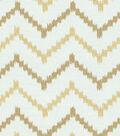 Home Decor 8\u0022x8\u0022 Fabric Swatch-HGTV HOME Life Line Gold
