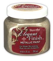 DecoArt Elegant Finish 10 fl. oz. Metallic Paint, , hi-res
