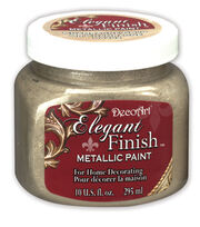 DecoArt Elegant Finish 10 fl. oz. Metallic Paint, , hi-res