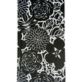 Park Lane 4\u0027\u0027x7.5\u0027\u0027 Journal-Black & White Floral