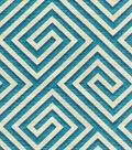 Home Decor 8\u0022x8\u0022 Swatch Fabric-IMAN Home Banji Teal