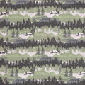 Super Snuggle Flannel Fabric-Lodge Forrest