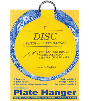 """Disc Plate Hanger 3""""-For Plates Up To 8"""""""