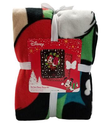 "Disney No Sew Fleece Throw 72""-Minnie Season Of Joy"