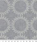 Waverly Multi-Purpose Decor Fabric 54\u0022-Ready to Roll Emb Thunder