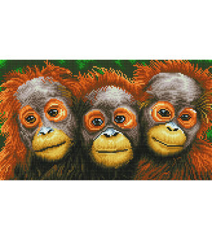 Diamond Dotz Diamond Embroidery Art Kit 18.5''X10.6''-Oranging Around
