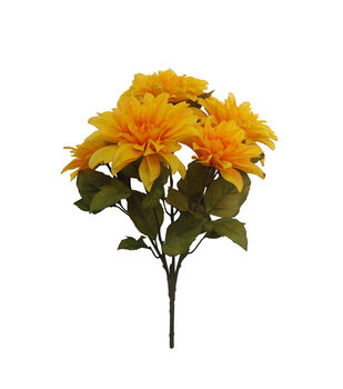 Blooming Autumn Water Resistant Dahlia Bush-Yellow