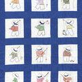 Jack Dempsey Stamped Nursery Quilt Blocks Little Boys