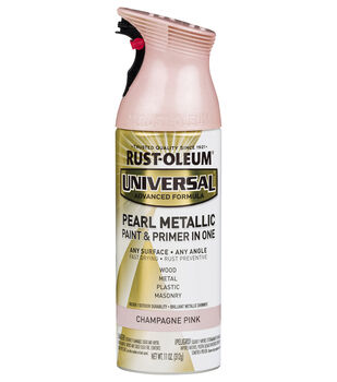 Rust-Oleum Universal Pearl Metallic Paint & Primer-Champagne Pink