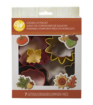 Wilton 7pc Metal Cookie Cutter Set-Fall