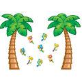 Tropical Trees Bulletin Board Set, 38 Piece set