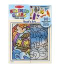 Melissa & Doug Stained Glass Made Easy Sticker Set-Noah\u0027s Ark
