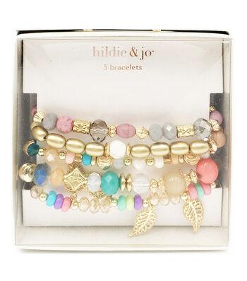 hildie & jo 5 pk Bracelets in a Box-Multi