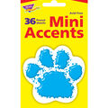 Paw Print Mini Accents, 36 Per Pack, 6 Packs