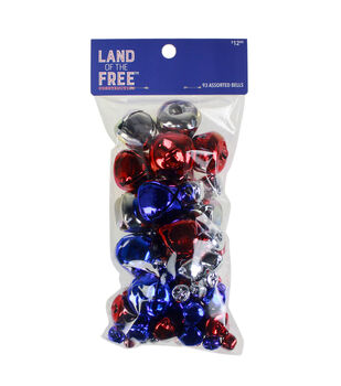 Land of the Free Bells Variety Pack 93/Pkg-Americana