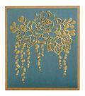 Sizzix Textured Impressions A6 Embossing Folder-Elegant Succulents