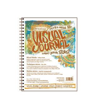 Strathmore Mix Media 34-sheet 9''x12'' Visual Journal