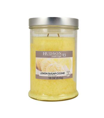Hudson 43 Candle & Light Collection 18oz Lemon Sugar Cookie Jar