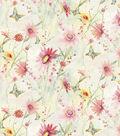 Premium Cotton Fabric-Floral Wildflowers