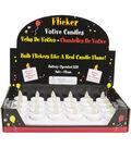 Darice LED Votive Flicker Candle Light-White