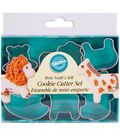 Wilton Mini Metal Cookie Cutters 1-1/2\u0022-Noah\u0027s Ark