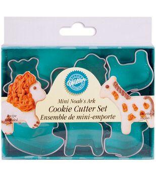 "Wilton Mini Metal Cookie Cutters 1-1/2""-Noah's Ark"